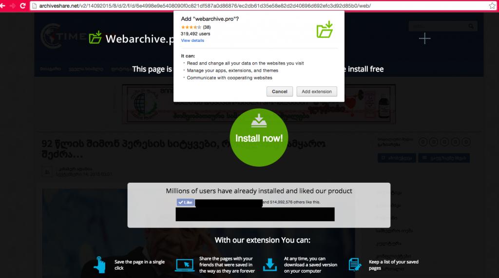 webarchive.pro virus